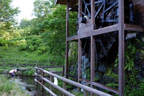 13泉の森水車小屋