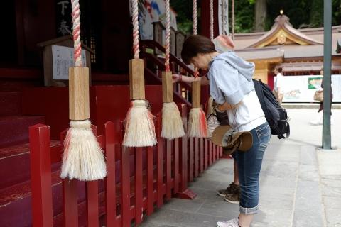 31箱根神社参拝