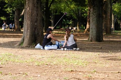 20代々木公園自撮り