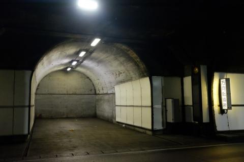 27aR115土湯トンネル方向転換