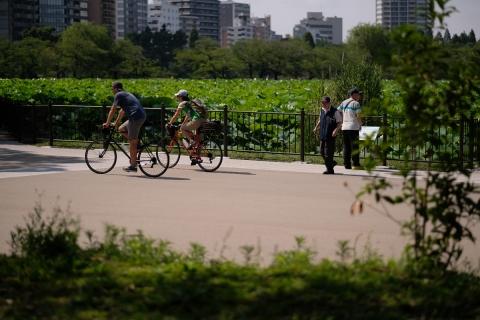 16不忍池自転車