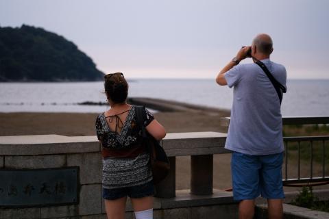 05江の島中年カップル