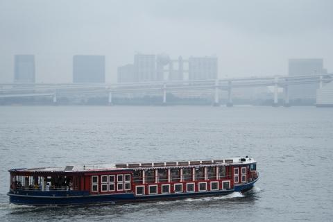 19竹芝桟観光船とお台場