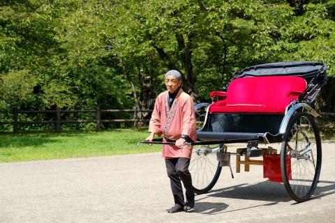 17弘前城の車夫