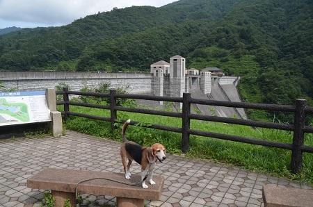 20170821四万川ダム06