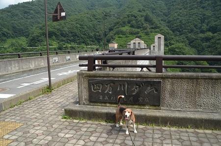 20170821四万川ダム04