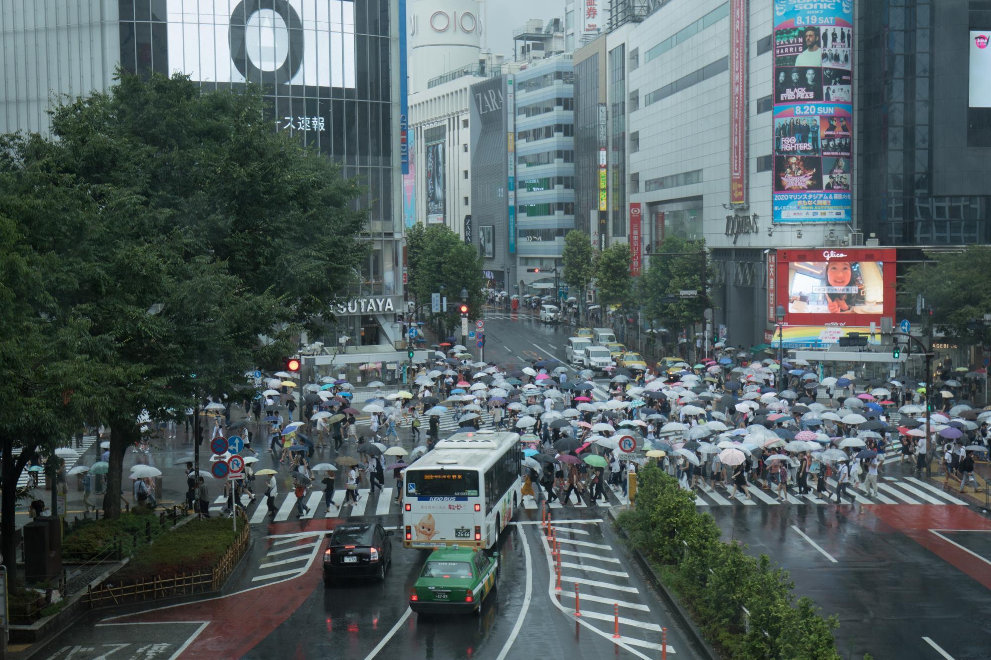 20170815-渋谷交差点