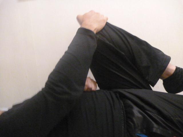 施療前 腰に痛み