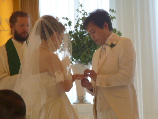 結婚式に出席してきました。