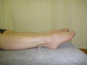 足関節底屈