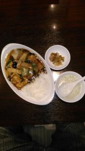 天童の上海厨房さんで昼食してきました。