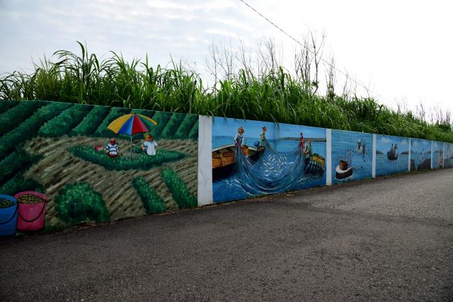 絵画のある村(4)