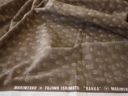 290604 114 マリメッコ RAHKA ブラウン