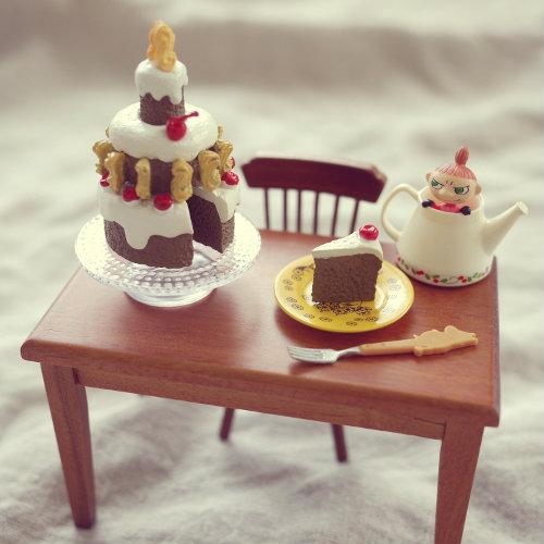 290613 リーメント ムーミン とっておきのデコレーションケーキ