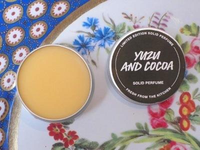 Yuzu And Cocoa Solid Perfume (シトラスショコラ ソリッドフレグランス)