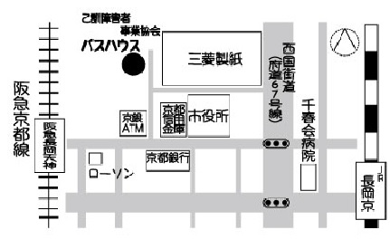 バスハウス地図