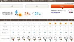 千葉国際天気11