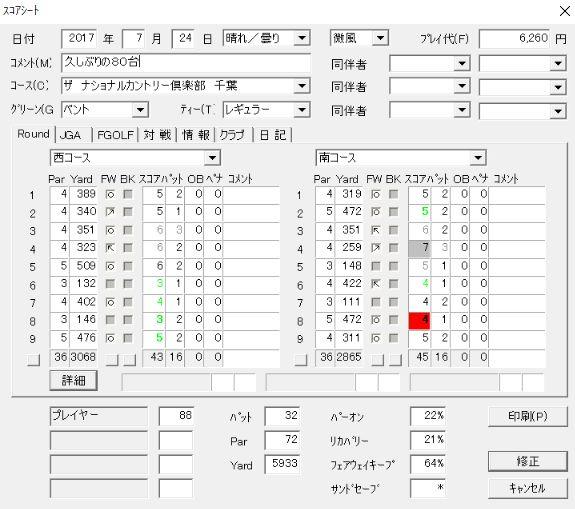 20170724ザナショナルCC千葉