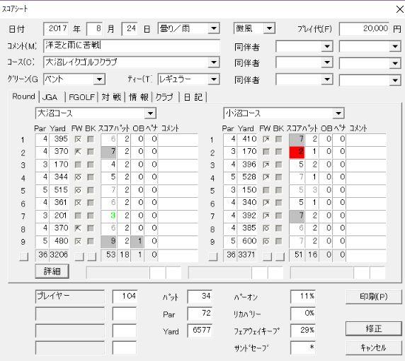 20170824大沼レイク