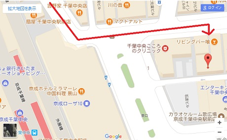 18生 交流会チラシ 会場地図