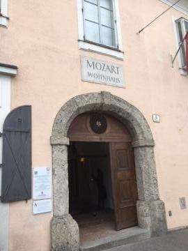 モーツァルトの住居・ザルツブルク