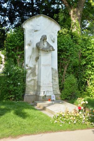 ブラームスの墓
