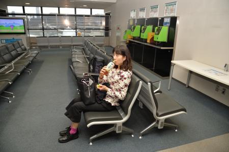 成田空港のロビー