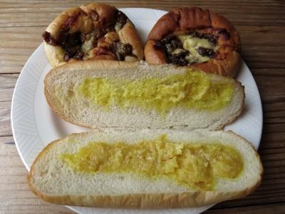 170828-23=イケダパン惣菜パン3種中身 aPBR