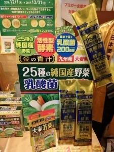 P5096573 金の青汁 25種の純国産野菜 乳酸菌×酵素57
