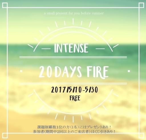 20daysfireちらし