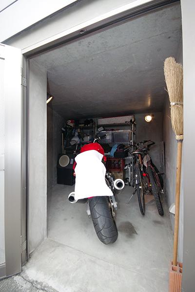 方南町4RESTバイク置き場3