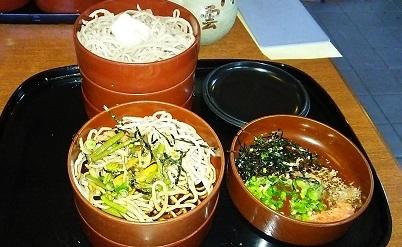 割り込蕎麦(松江)