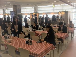 大阪国際会議場 企業展示ブース カフェケータリング