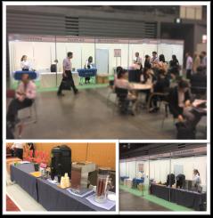 福岡国際会議場・マリンメッセ福岡 ドリンクコーナー 学会 ケータリング