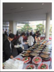 福岡国際会議場 学会 パーティー ケータリング