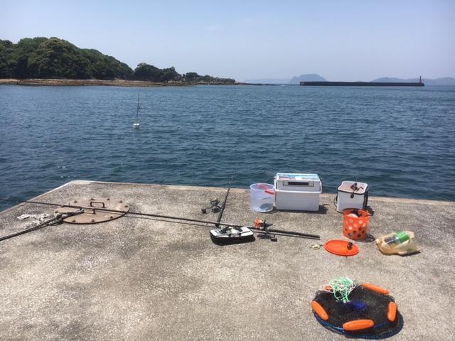 アジ釣り調査1