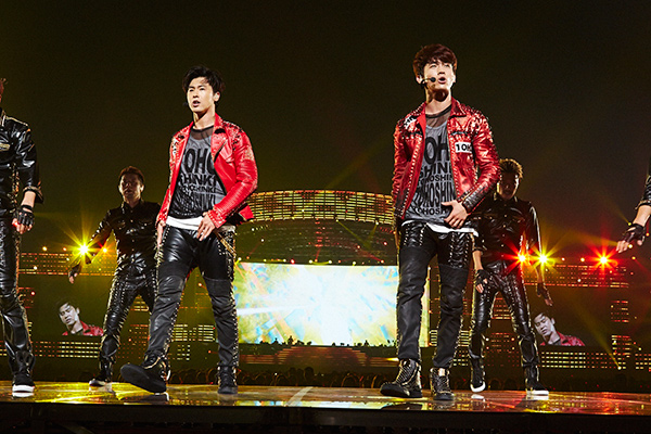 M-ON! LIVE 東方神起 「東方神起 LIVE TOUR 2015 WITH」