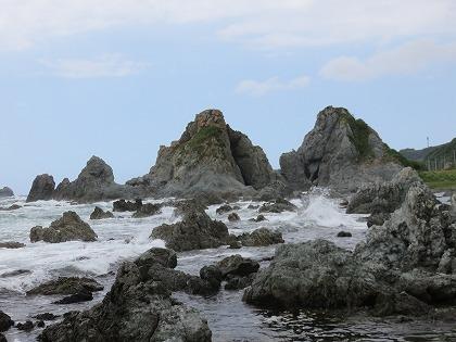 佐渡 夫婦岩
