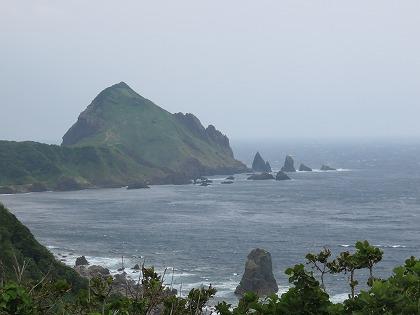 大野亀と日本海