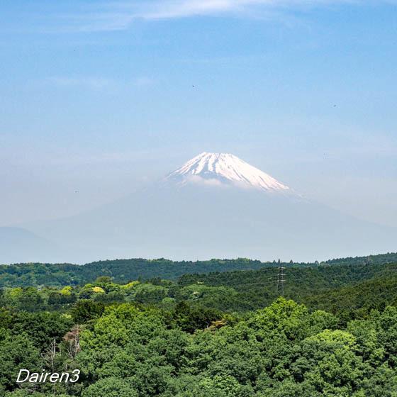 三島SkyWalkからの富士山