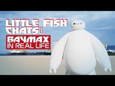 【いいね!】ベイマックスがニューポートビーチに現れる!