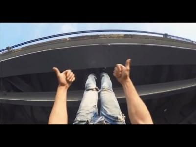 【危機一髪!】GoProで撮影した危機一髪映像が凄すぎ!