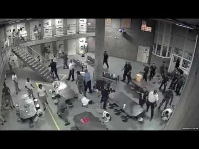 【衝撃!】アメリカの刑務所は命懸けだね!