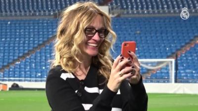 【いいね!】プリティーウーマンのジュリア・ロバーツがメチャメチャサッカーファン!