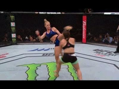 【Fight!】女性ファイターが挑発してたらやられちゃった!