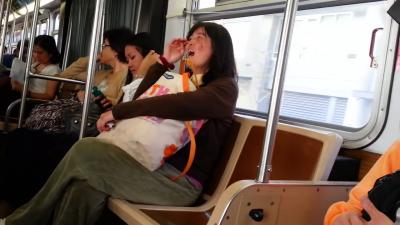 【苦笑】サンフランシスコの中国人女性が・・・怖い!