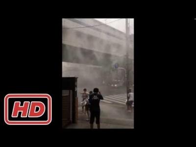 【衝撃!】駒沢大学駅前の嵐がヤバすぎる!