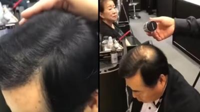 【スゴイ!】叩くだけで髪がフサフサ~気になる人必見!