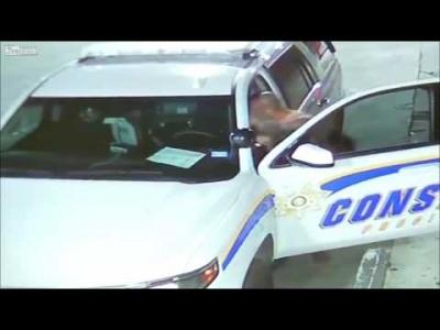 【スゴイ!】堂々と警察車両を盗む男がスゴイ!