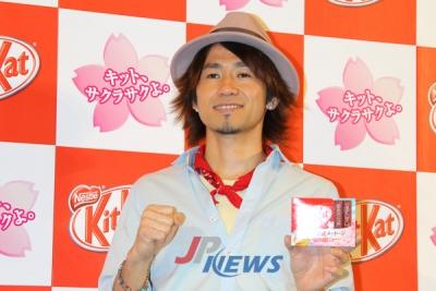 【芸能人サプライズ】ナオト・インティライミがキットカットイベントにサプライズ登場!